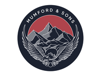 Mumford & Sons Eagle
