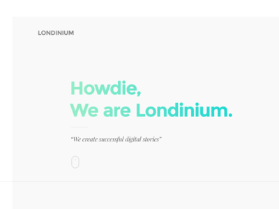 Concept: Londinium gradient blog ui user interface londonium theme wordpress