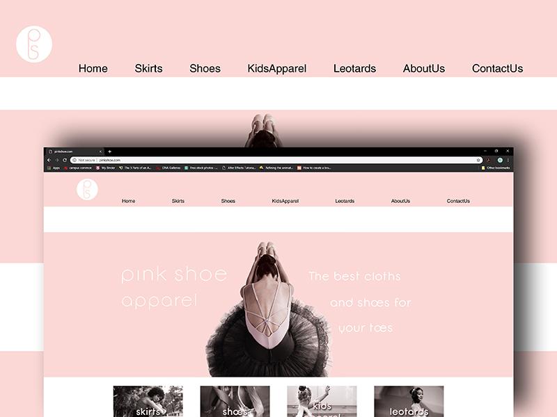 Pink Shoe Identity identity design busines card logo design branding indesign type vector design typography digital illustration graphic design photoshop illustrator web  design