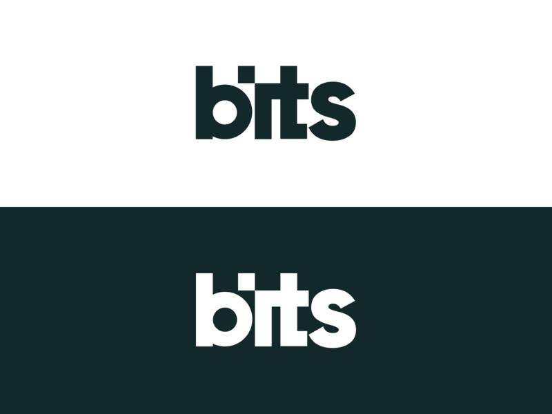 bits.so - logo modern logodesign wordmark logo