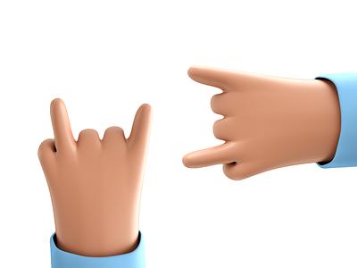 Hand Render render octanerender design comic octane hand 3d