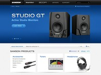 Samson Audio Website