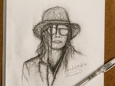 Michael Jackson michael jackson art drawing