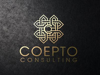 COEPTO Consulting Brand identity  branding consulting coepto logo design brand identity brand