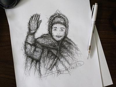 M6 | King Of Morocco  drawing art mohamed 6 morocco king