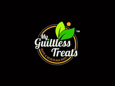 My Guiltless Treats Brand  abodystudio branding brand design logo