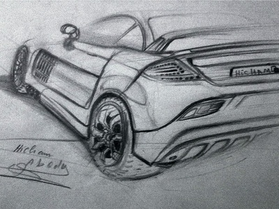 Car Drawing - the same how?  drawing car