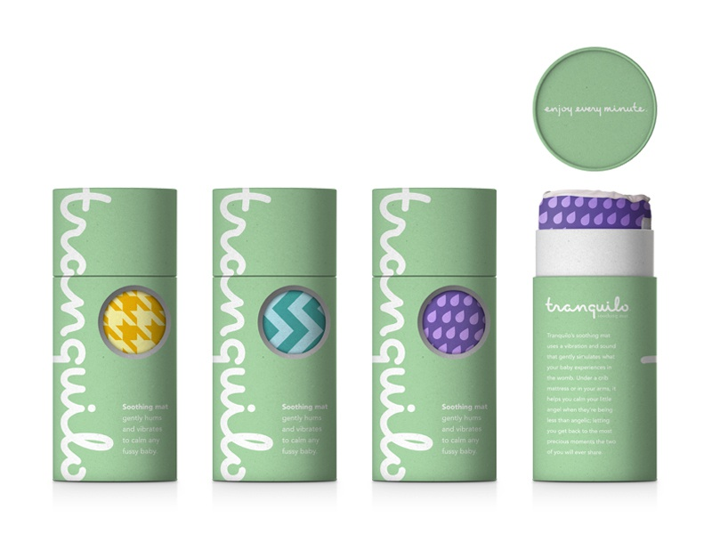 Tranquilo Packaging By Brian Grossman Dribbble Dribbble