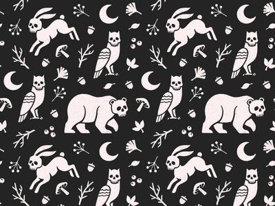 Skull Animal Pattern