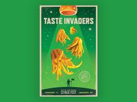 Taste Invaders