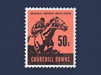 Kentucky Derby Stamp