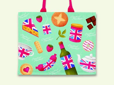 Central Market Passport UK Tote Bag