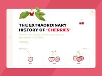 Cherry Fruit Landing Page