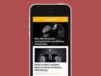 Numrush homepage mobile