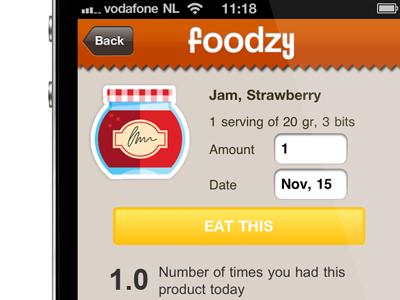Foodzy iOs App
