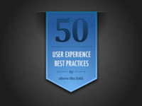 50 UX Best Practices Emblem