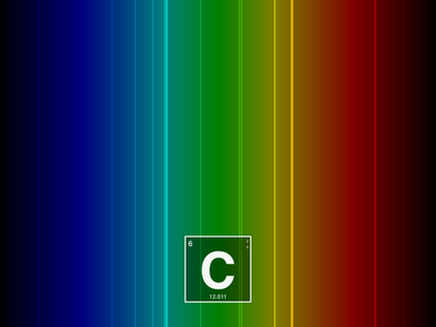 Carbon Spectrum Poster