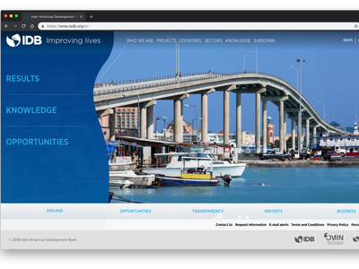 Inter-American Development Bank Homepage