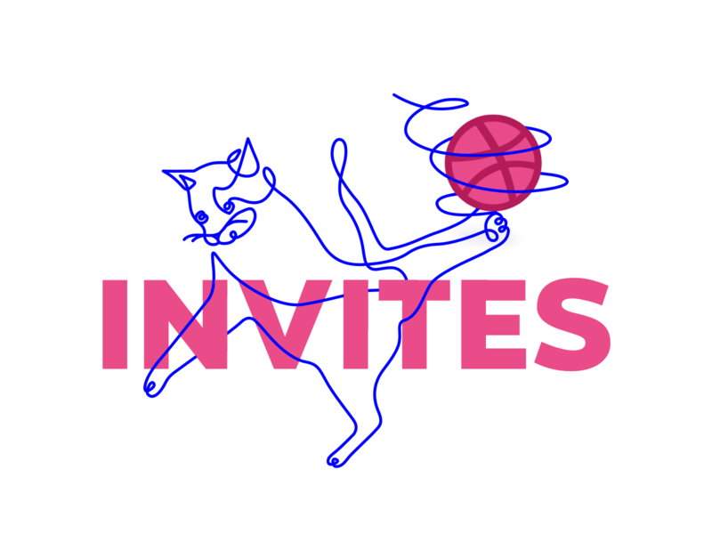 Join the game! 🏀/ dribbble invites invites funny cat iteo iteoteam oneline game draft dribbble invite