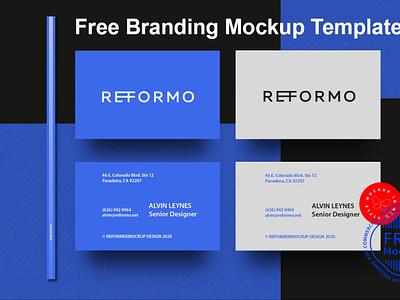 Free Branding Mockup Template mock-up object smart object package logo template freebies packaging mockup