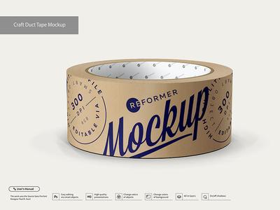 Craft Duct Tape Mockup