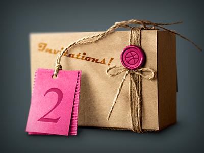 Dribbble invitations invite invitation illustration dribbble