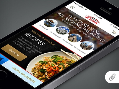 Ázsia store - Mobile app concept iphone mobile app smartphone ios design ui ux interface webshop