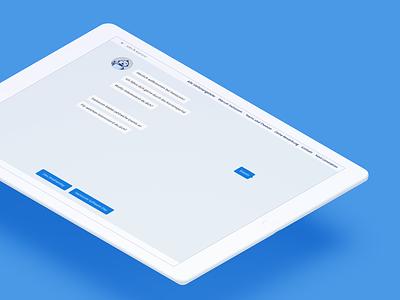 Chatbot 🤖 conversational ui bot illustration minimalist design simple job portal robot design chatbot blue collect data application ai