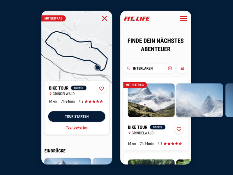 Sports Tracking Application