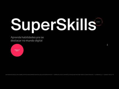 SuperSkills skills business profit parallax scrolling webflow