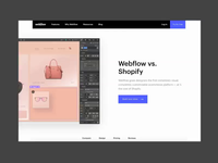 Webflow vs. Shopify