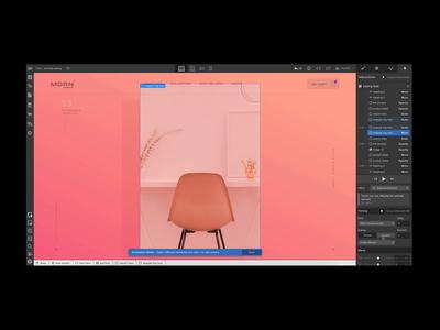Custom easing curves webdesign interface animation interaction webflow