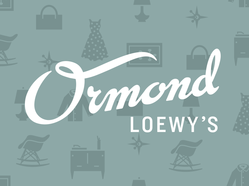 Ormond Loewy's Department Store department store california los angeles mid-century modern usa accessories clothing furniture