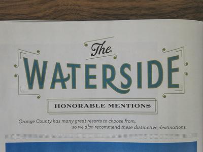 Waterside Honorable Mentions