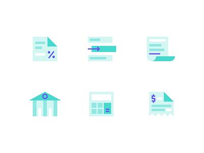 API Icons branded icons illustration website designer website design ui website flat brand identity brand iconographic icon set icons