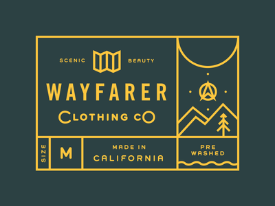 Wayfarer Clothing teespring clothing tag type map apparel compass
