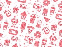 Rewards Icon Pattern