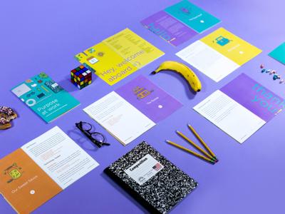 Employee Handbook Shot By Kyle Anthony Miller Dribbble - Employee handbook design