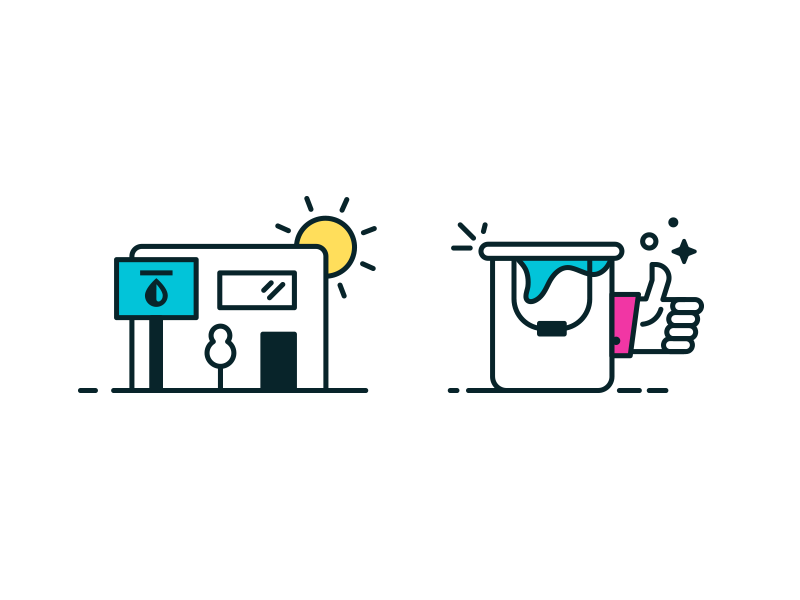 Shop Icons by Kyle Anthony Miller