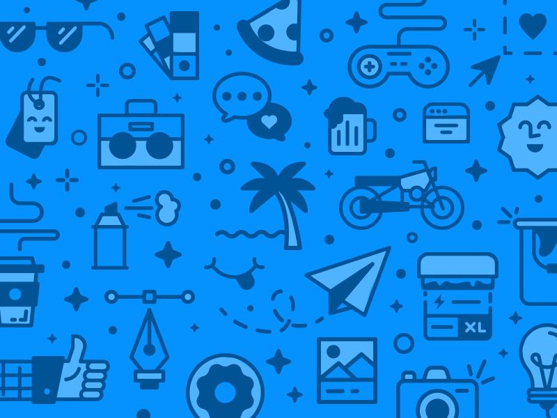 Icon Pattern branding brand iconography illustration pattern icon