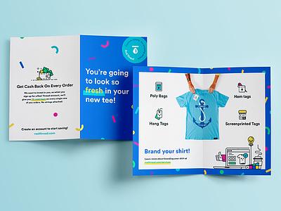 Packaging Insert brand design icon book booklet insert print packaging branding brand