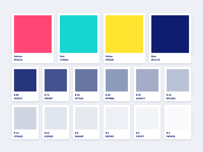 Brand Colors modern start up brand guide color identity brand identity brand