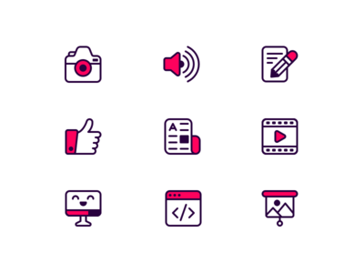 Drag and Drop Icons