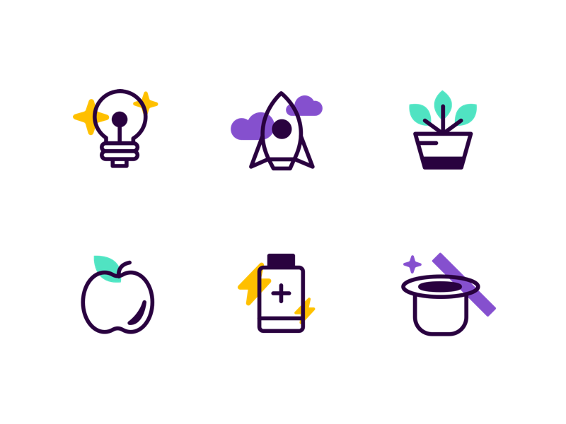 Company Values Icons icon icons