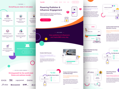 product page by kyle anthony miller dribbble