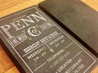 Penn Co. Business Card