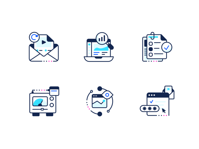 Compliance Icons security compliance app brand identity branding ux ui icon illustration