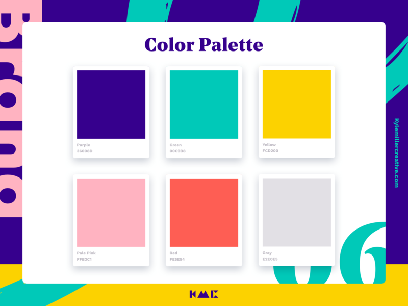 Color Palette 06 brand agency styleguide brand guide colors color colors palette typography brand brand identity branding illustration