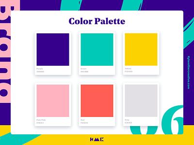 Color Palette 06 brand agency styleguide brand guide colors color colors palette typography brand brand identity branding illustration