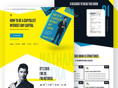 Book Website web designer iconography web design website book website landing page brand brand identity branding illustration